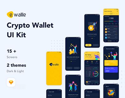 E.Wallie crypto wallet
