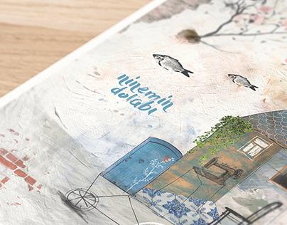 poster design for ninemindolabı