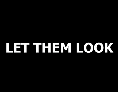Let them look - HAWKERS