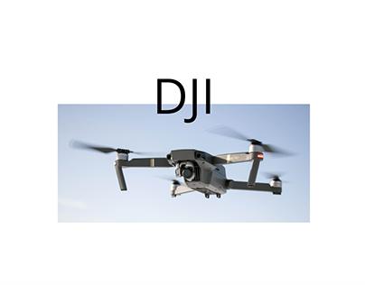 DJI web concept design. 2021