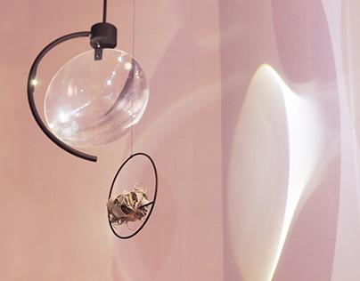 Magnifying Lamp - Signage Installation