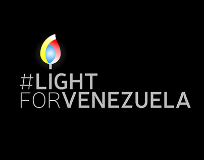 Light for Venezuela, diseño de logotipo.