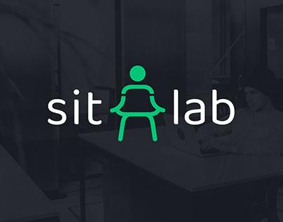 Sitlab - Brand Identity / Mobile application design UI