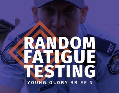 Young Glory 3 | Random Fatigue Testing