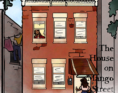 The House on Mango Street Vignettes 1-4 Illustrations