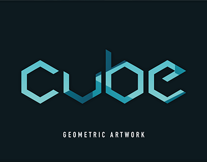 Cube - Geometric Artwork | Graphic Design