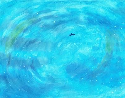 """『青の光景』への習作 Study to Mr.Hata Motohiro's Opus """"青の光景"""""""