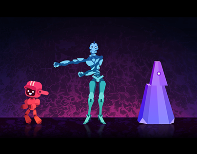 Three Robots | Animation