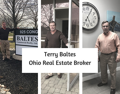 Terry Baltes Experienced commercial real estate broker