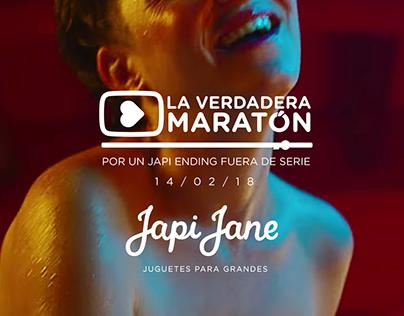 Japi Jane | La Verdadera Maratón (14 de Febrero)