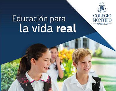Campaña Institucional Maristas Colegio Montejo