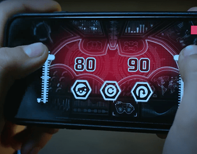 LEGO App Controlled Batmobile UI