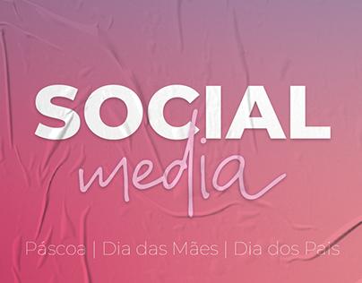 Social Media - Páscoa   Dia das Mães   Dia dos Pais