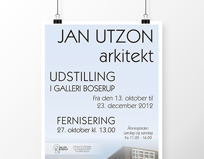 Posters and brochures for art exhibitions