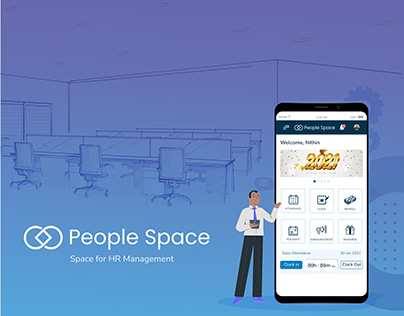 People Space - Space for HR Management (Case study)
