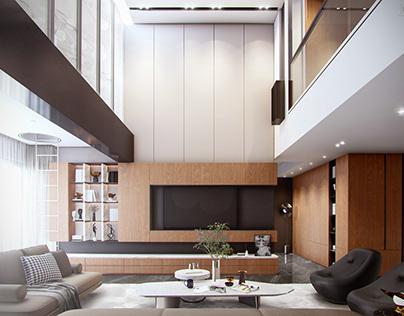 Mezzanine Livingroom