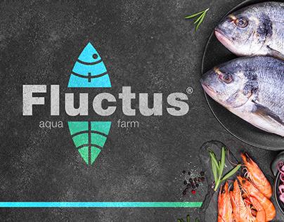 Logo for aqua farm