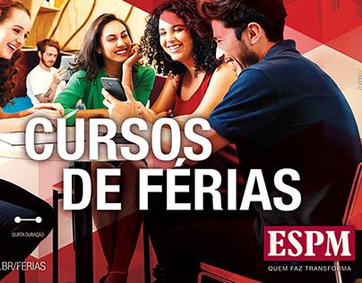 Campanha Cursos de Férias - ESPM - 2018