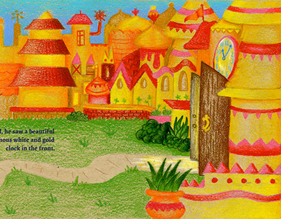 It's A Small World Book - Redesigned Page Illustration