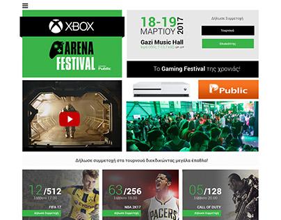 Xbox Arena Festival 2017