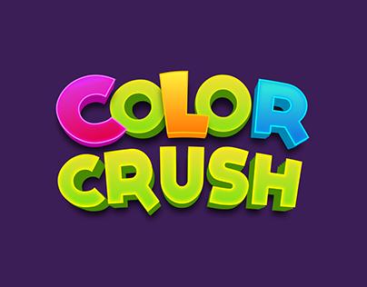 Color Crush Game Logo