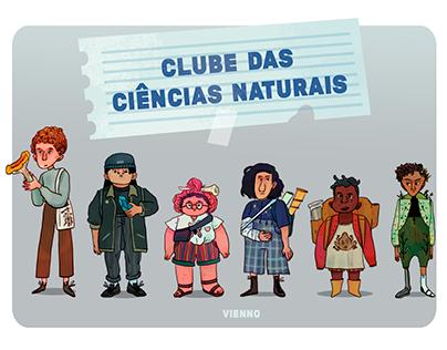 Clube das ciências naturais.