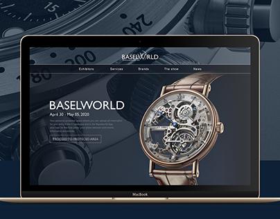BASELWORLD Rebranding & UI Concept