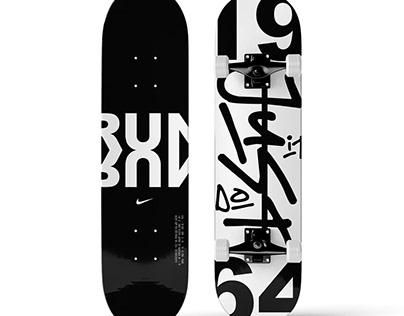 Nike Concept Skate Board Designs