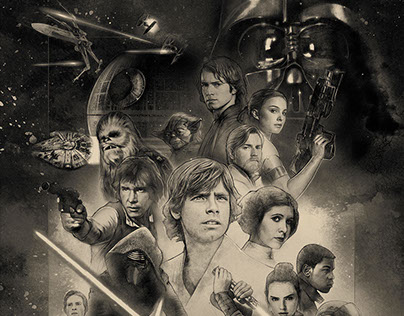 Star Wars Celebration Orlando Key Art