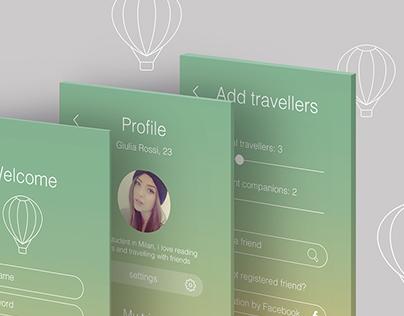 PasseparTour - traveling mobile application