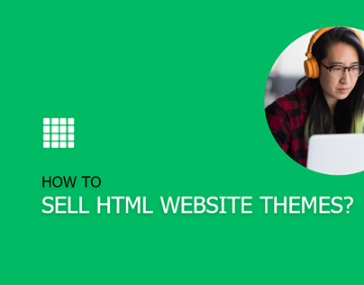How to sell html website themes?