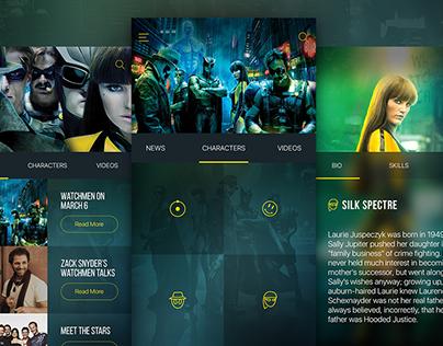 Watchmen UI Design Concept