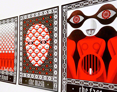 Winning posters inspired by The Handmaid's Tale Novel