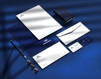 Mizudo. Rebranding   Brandbook   Merchandising book