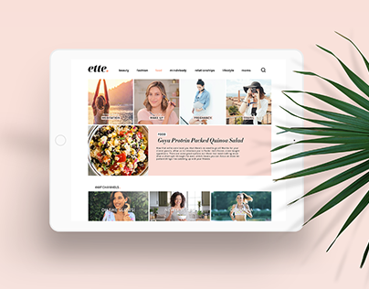 Branding for Digital Female Platform Ette