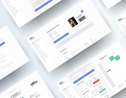 Student Portal UI/UX Design