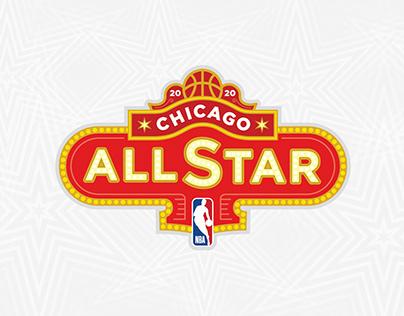 2020 NBA All-Star Game Branding