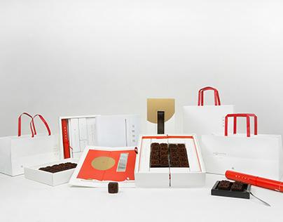 MoonCake Packaging Design 二〇一八 仲秋「活字印刷诗赋」