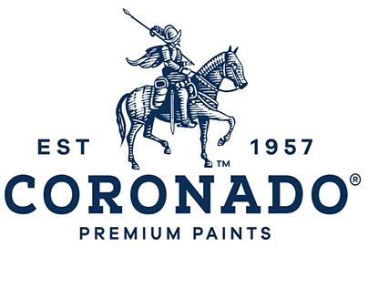 Coronado Premium Paints Brandmark by Steven Noble