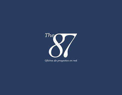 The87 coworking | Branding | Logo