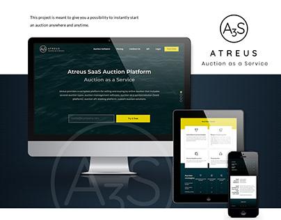 Atreus SaaS Auction Platform