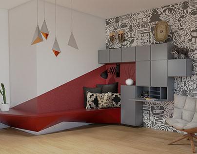 Working Corner Design