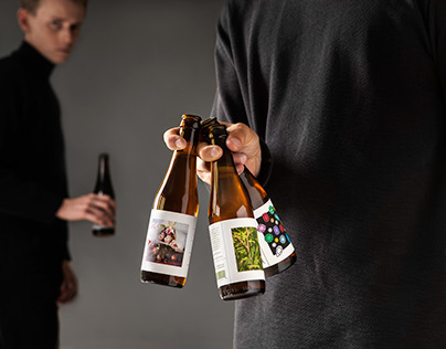 O/O Brewing S/S 2015 - Packaging & Signage