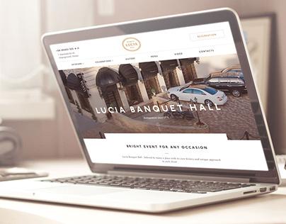 Lucia Banquet Hall Website