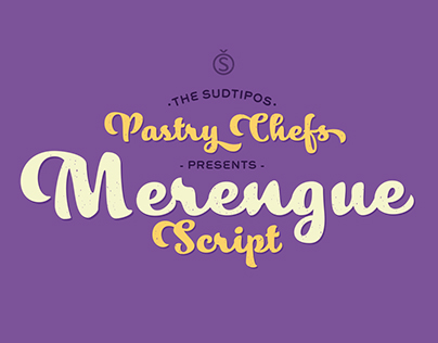 MERENGUE SCRIPT Typeface