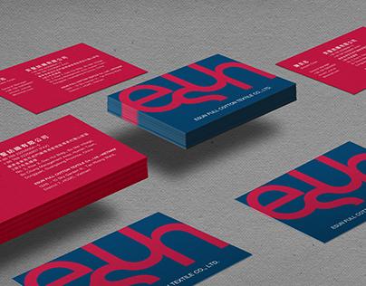 奕聖紡織品名片設計   ESUN COTTON TEXTILE Business Card design