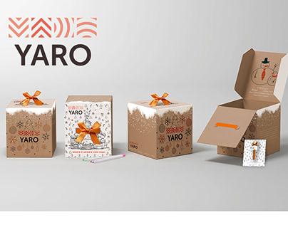 Коробка подарков от YARO