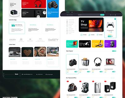 Online shopping website ||ui ux