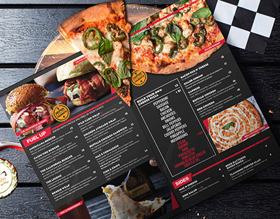 Menu Design - RPM Bar & Grill