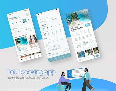 Tour Booking App   UI/UX   Light Mode